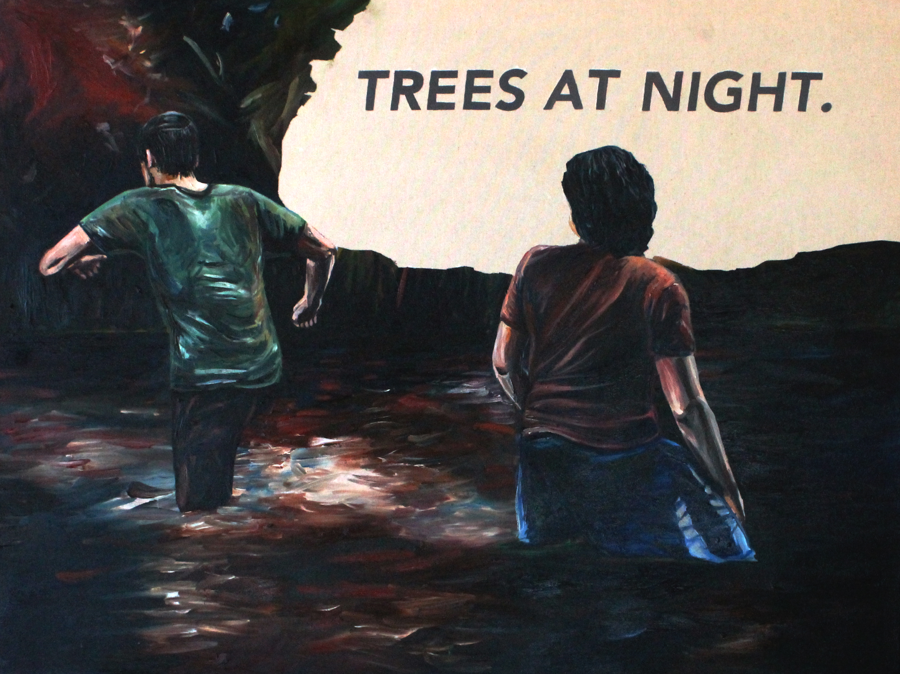 Untitled (Trees at Night.)