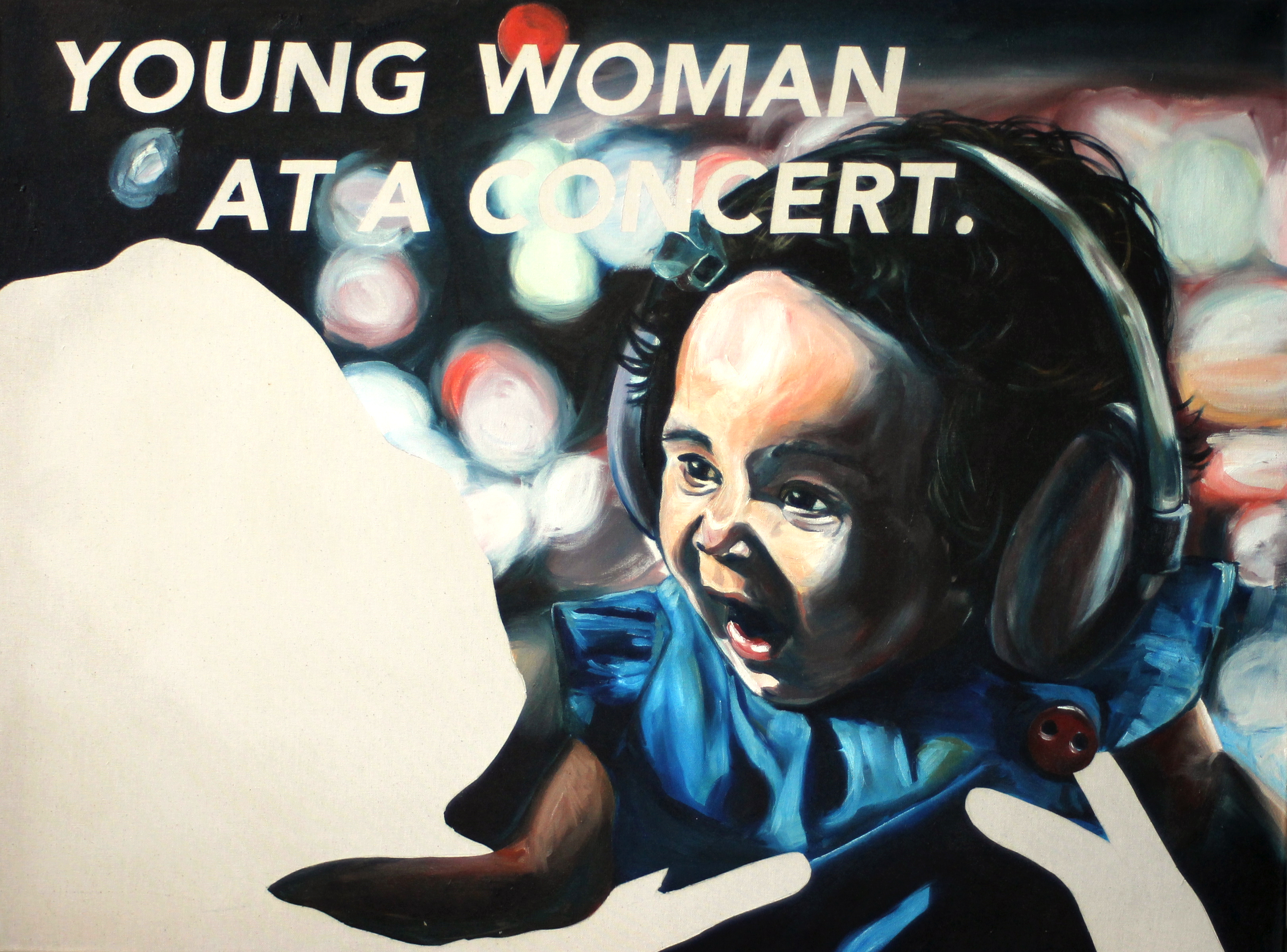 Untitled (Young Woman at a Concert.)