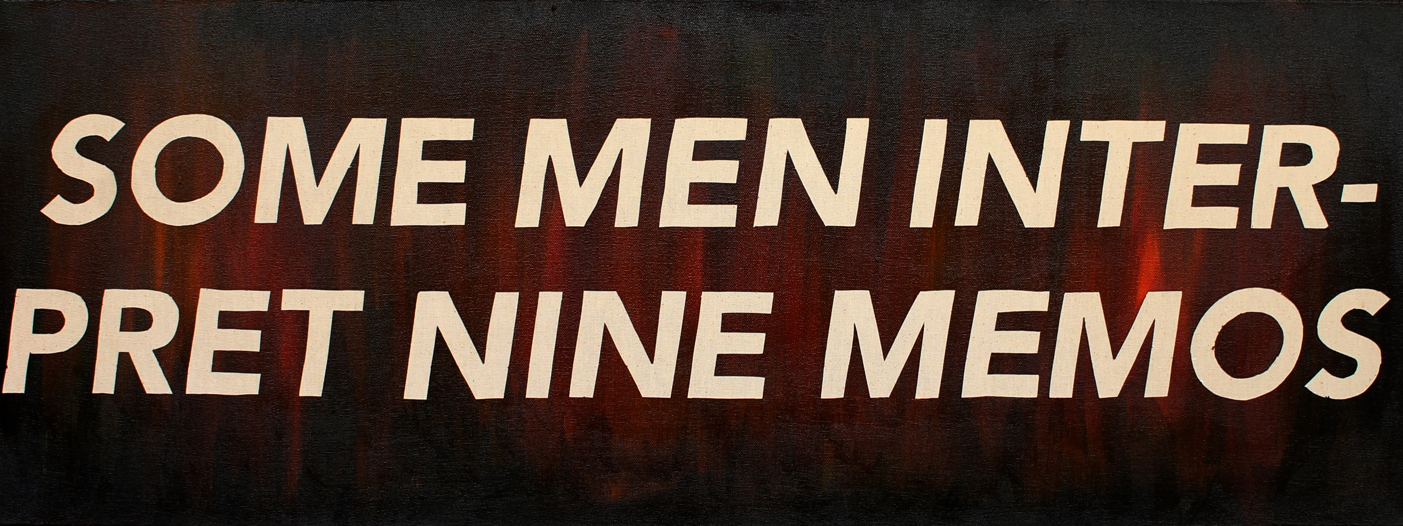 Untitled (Some Men Interpret Nine Memos)