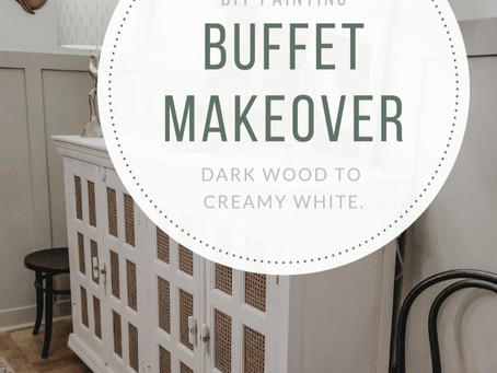 Our Sideboard Makeover
