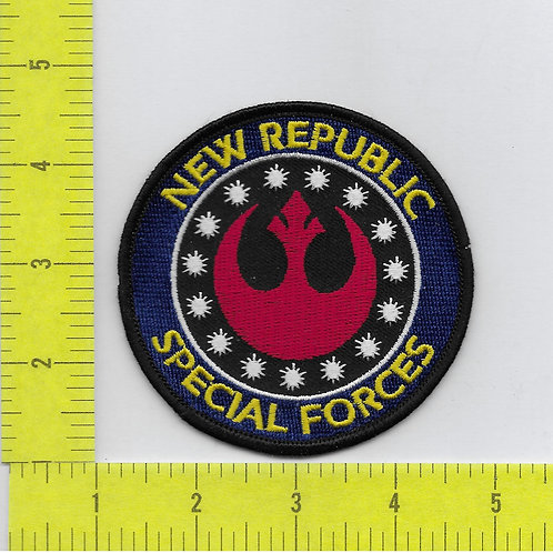 copy of Star Wars: New Republic Special Forces Logo Lg Patch