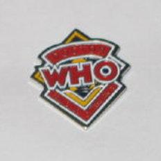 Doctor Who: Original Logo Fan Club Pin (clasp)
