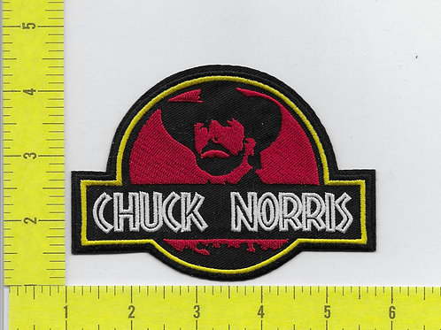 Chuch Norris Parody of Jurassic Park Patch