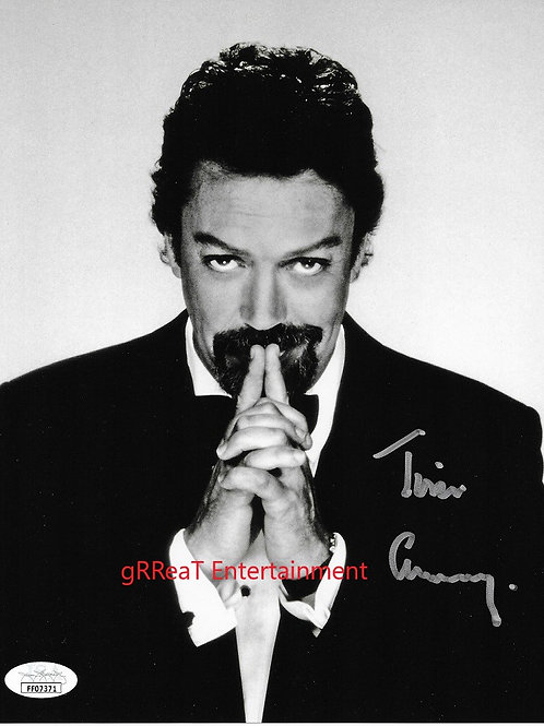Tim Curry Autographed 8 in x 10 in. Photo