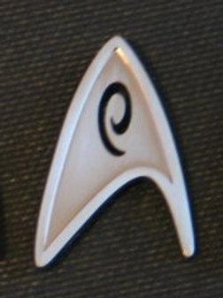 Star Trek New Movie Engineering Chevron Pin