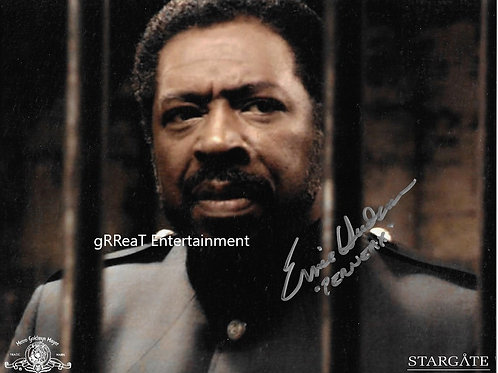 Ernie Hudson autographed 10 in x 8 in photo