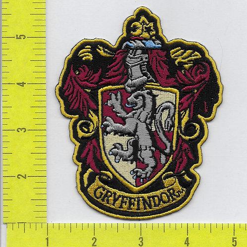 Harry Potter: Simplicity Gryffindor House Emblem Patch