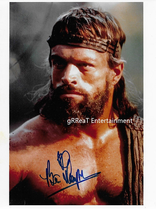 Brian  Thompson autographed 8 in x 10 in photo