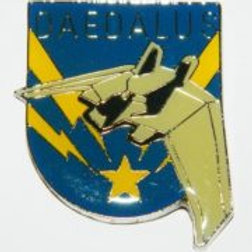 Stargate Atlantis Daedalus Ship Logo Pin