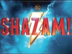Shazam! Movie name & Lightening Bolt