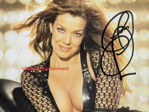 Claudia Christian autographed 10 in x 8 in photo