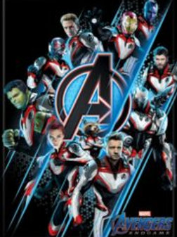 Avengers Endgame: Group on Black Photo