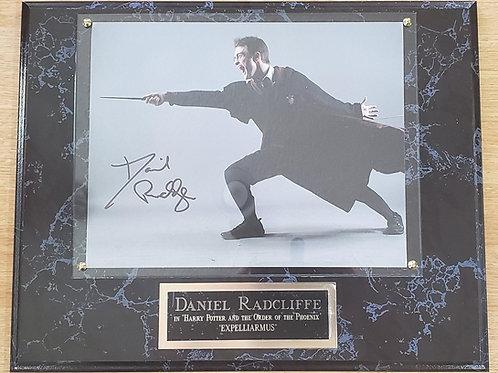 Daniel Radcliffe  Deluxe Plus Plaque