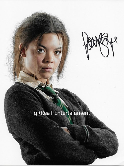 Scarlet Byrne Autographed 8 in x 10 in. Photo