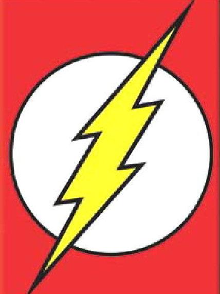 DC Comics: Flash Lighting Bolt Logo