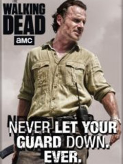 TWD: Rick Never Let Your Guard Down