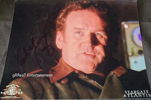 Colm Meaney autographed 10 in x 8 in photo