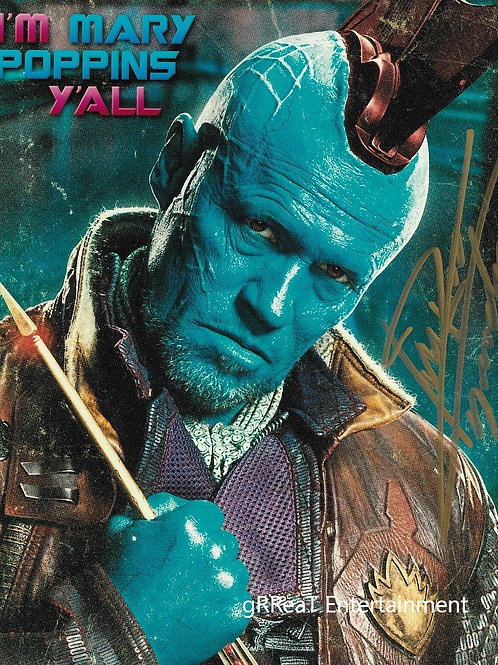 Michael Rooker autographed 8 in x 10 in. Photo