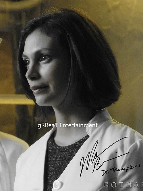 Morena Baccarin autographed 8 in x 10 in photo
