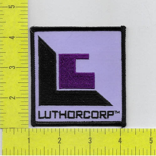 Smallville TV Series Luthor Corp Patch