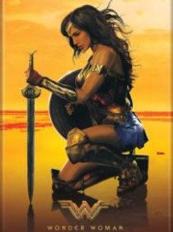 Wonder Woman  Kneeling with Sword