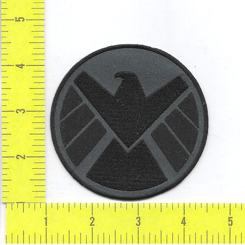 Agents of S.H.I.E.L.D. TV series Logo Blue and Black Right Facing Patch