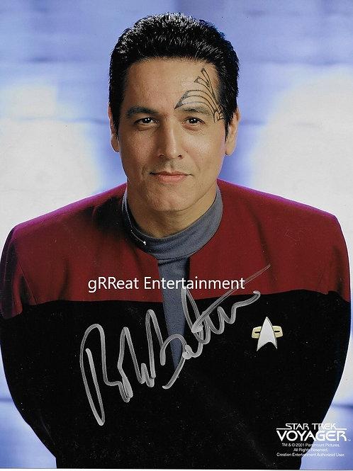 Robert Beltran Autographed 8 in x 10 in. Photo