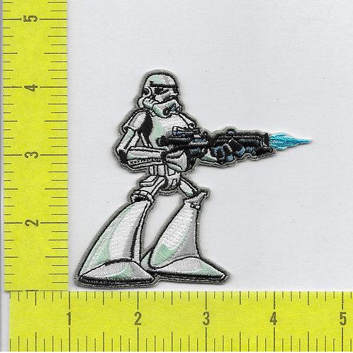 Star Wars: Storm Trooper with gun Figure Patch