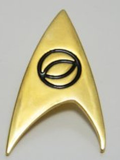 Star Trek classic TV Science Logo Pin
