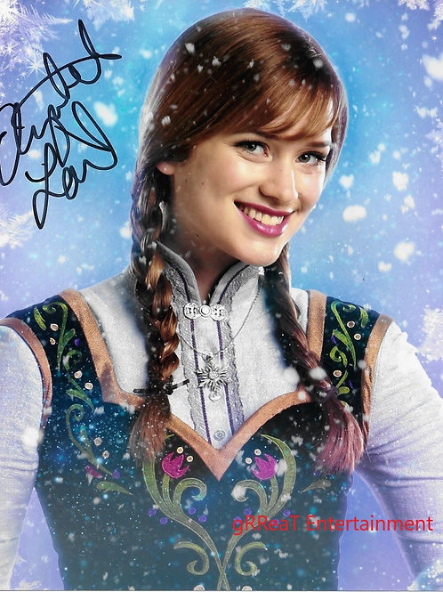 Elizabeth Lail autographed 8 in x 10 in. Photo