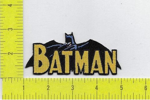 DC Comics Batman Cape and Name Patch