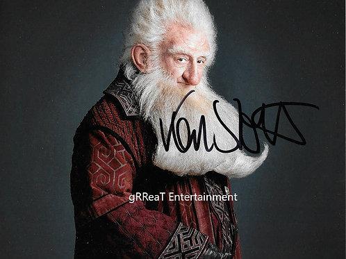Ken Stott autographed 10 in x 8 in photo