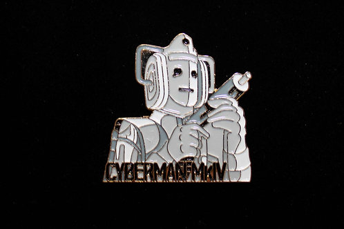 Doctor Who: Cyberman Pin