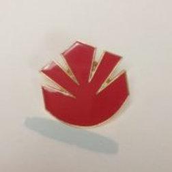 Star Trek: Next Generation Marquis Red Logo Pin