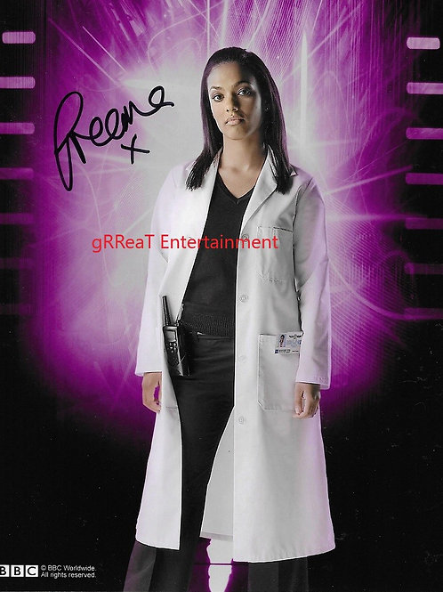 Freema Agyeman autographed 8 in x 10 in photo