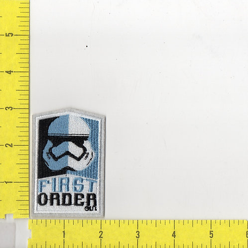 Star Wars: The Force Awakens, First Order Trooper Logo Patch