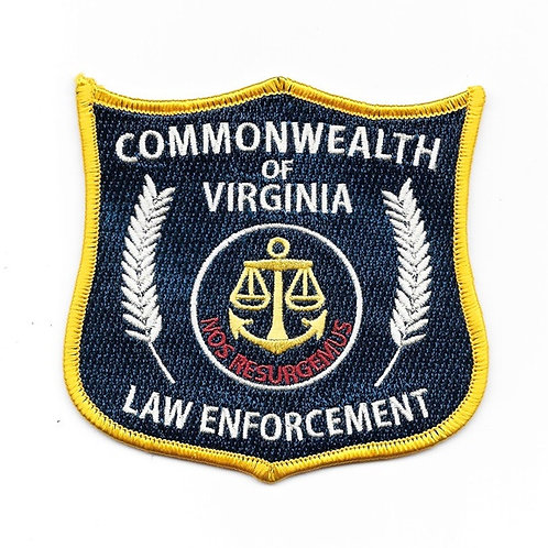The Walking Dead: Commonwealth of Virginia Law Enforcement Patch