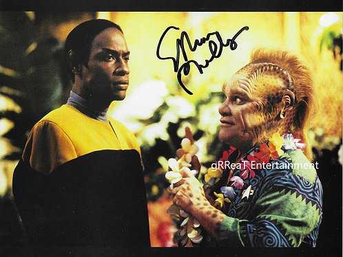 Ethan Phillips autographed 10 in x 8 in photo
