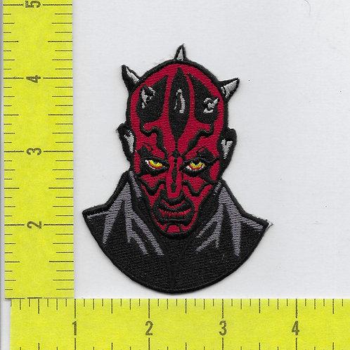 Star Wars: Darth Maul head Patch