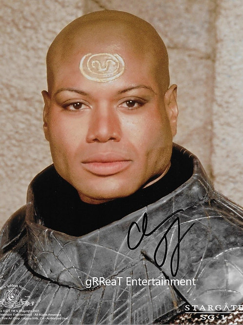 Christopher Judge autographed 8 in x 10 in photo