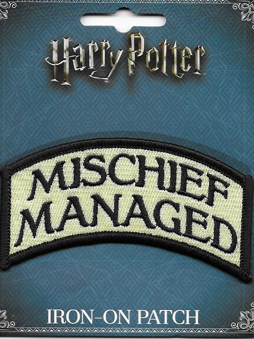 Mischief Managed Licensed Patch
