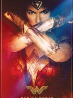 Wonder Woman Defending with Bracelets