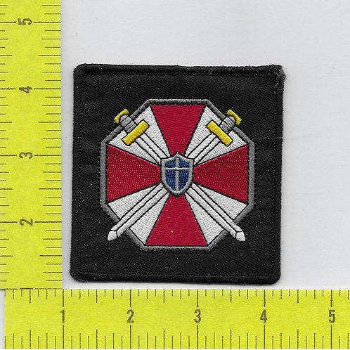 Resident Evil UCBS Umbrella Corp. Logo Shoulder Patch