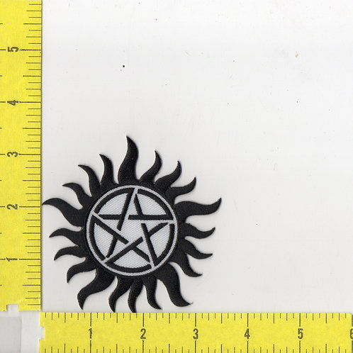 Supernatural Anti-possession Logo Patch