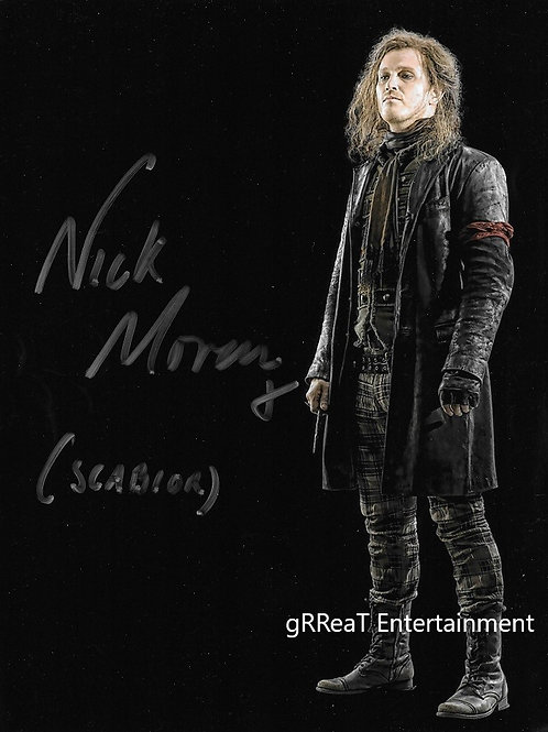 Nick Moran Autographed 8 in x 10 in. Photo
