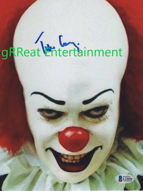 Tim Curry Autographed 8 in x10 in. Photo