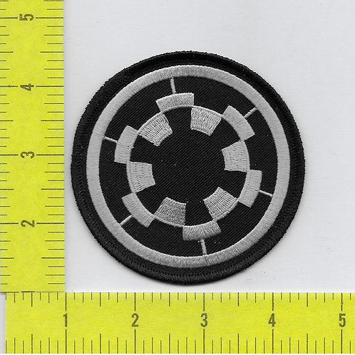 Star Wars: Imperial Empire Logo silver and black Patch