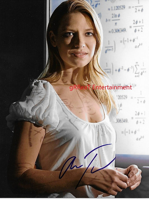 Anna Torv autographed 8 in x 10 in photo