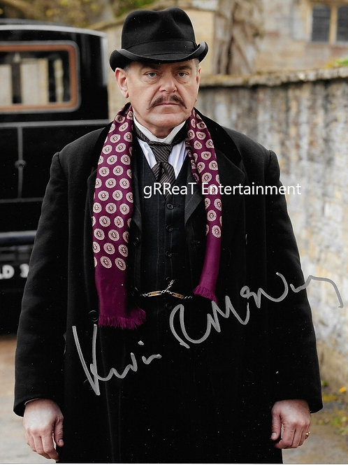 Kevin McNally autographed 8 in x 10 in. Photo