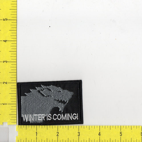 Game of Thrones: Stark Direwolf, Winter Is Coming Patch